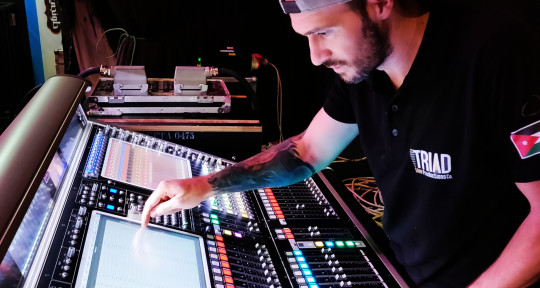 Live Sound Engineer | FOH - Sever Staicu HEARITFEELITMIXIT