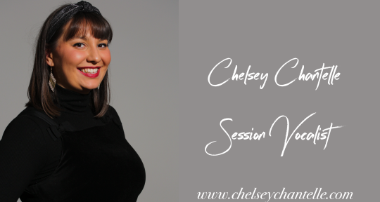 Session Singer, Top line, BV's - Chelsey Chantelle