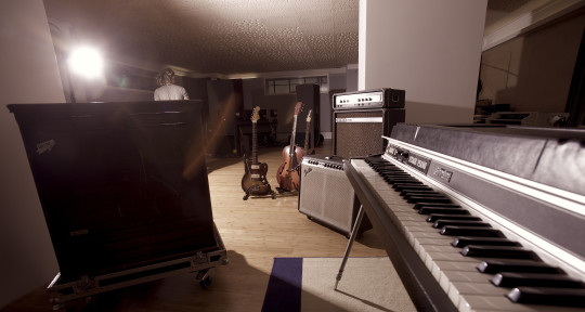 Photo of recording studio qflm