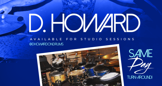 Session Drummer, Drum program - D.Howard Studios