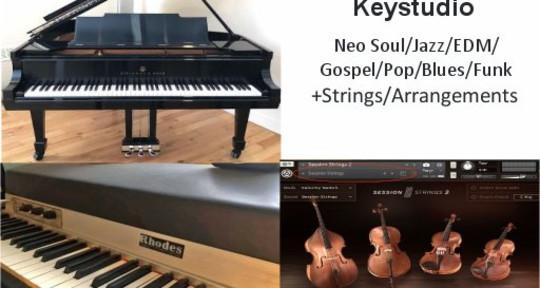 Session pianist (Rhodes/Piano) - Keystudio
