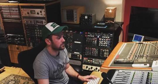 Drummer, Producer & Sound Eng. - Jordan Di Blasi