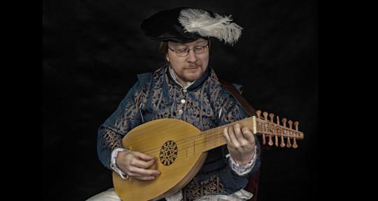 Guitar, Medieval Lute - Jan Pouska