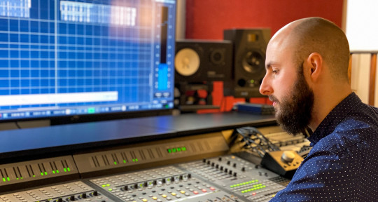 Remote Mixing & Drum Tracking - Daniel Busche