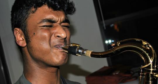 Saxophonist, Producer - Kapil Raman