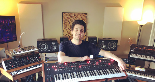 Session Keyboardist, Producer - Gabe Rudner