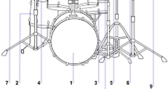 Drum tracks, drum recordings - Giorgio Erdas