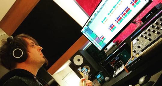 Session Bass Player - Cristian Postal