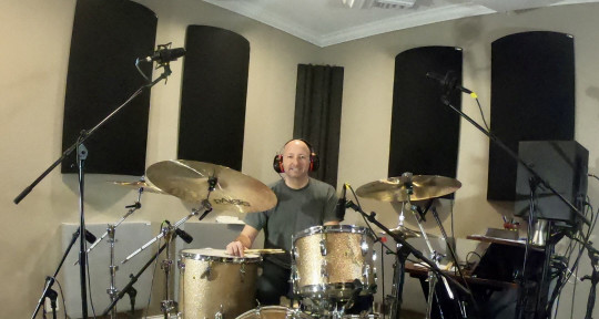 Top Session Drummer-Great Feel - Brian Hudson Drums