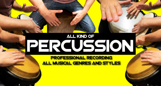 Record any Kind of Percussion - Facundo Alvarez