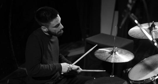 Session drummer - Maurizio Pinna