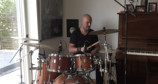 Remote recording of drums - Marcus Carter Drums