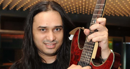 Guitarist and mix engineer - Vikramjit Banerjee