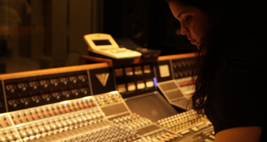 Sound engineer - Silvia Padron
