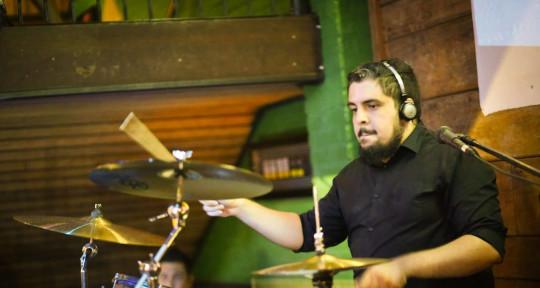 Brazillian drummer & perc - Mika Nascimento Baterista