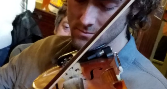 Session violin/fiddle Strings  - Neil Fitzgibbon Fishtyfiddles