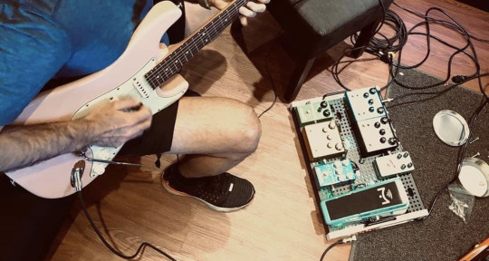 Electric guitar - Rene Del Risco