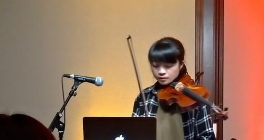 Producer and Violinist - Jessie Chiu