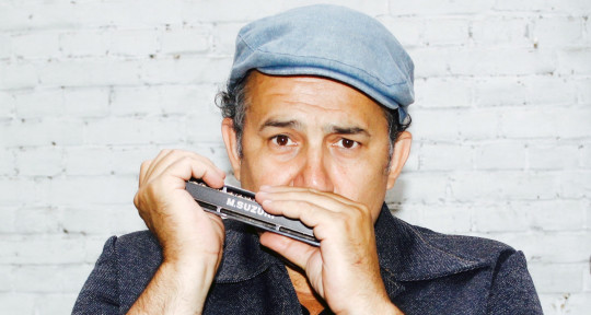 Harmonica player - Alex Rossi