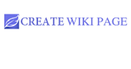 Writing - Create Wiki Page