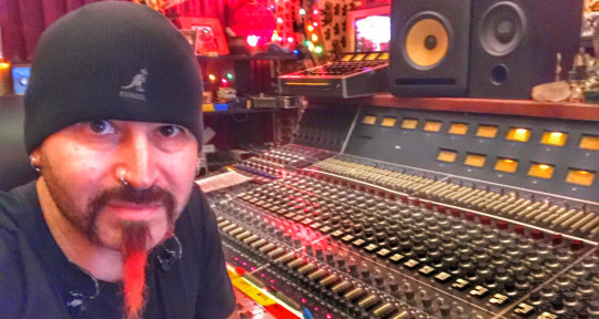 "Producer/writer/musician/mixer - Michael ""Fish"" Herring"