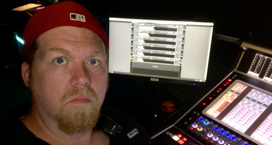 Live FOH engineer - Al Rettich