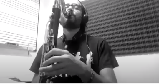 Session sax, clarinet player - Guille Izquierdo