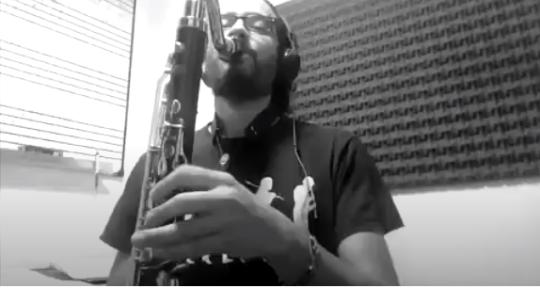 Session sax, clarinet player - Guille Izquierdo