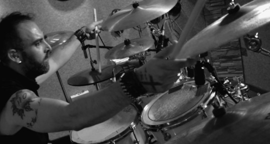 Drummer, performer - Manos Tsoupakis
