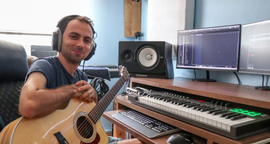 Producer, Seession guitarist - valery shpolansky