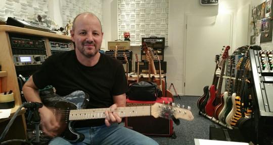Session Guitarist, Producer  - Bernd Voss