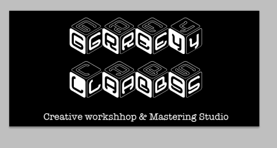 Recording, sound desing.  - GreyLabs Creative workshop.