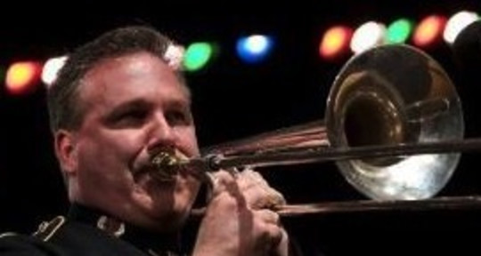 """Audio Editor, Trombone, Vocals - Jeff """"Slide"""" Adams"""