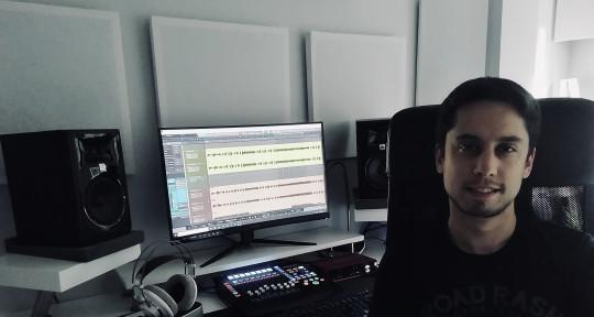 Record edit mix master - Ozen Estudio