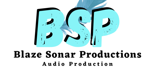 Audio Editing and Basic Mix - Blaze Sonar Productions