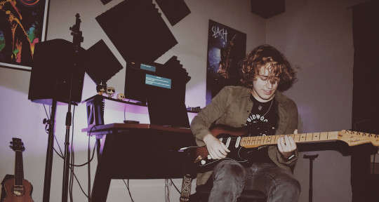 Producer/Mixer/Session Guitar - Logan Maggio