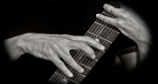 Chapman Stick player - Andy Salvanos