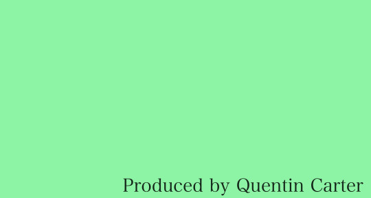 Music Producer, Remote Mixing - Quentin Carter