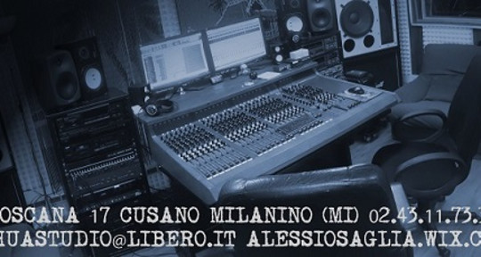 Rec,mix&master, Music producer - Alessio Saglia