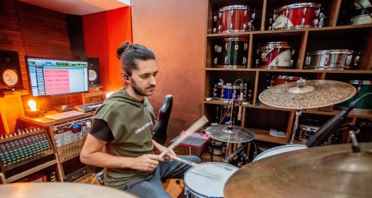 I Session Drummer I - Diego Jean Vicente