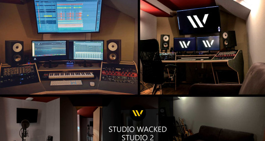 Music production - Studio Wacked