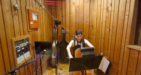 Cellist, arranger, host - Louise Dubin