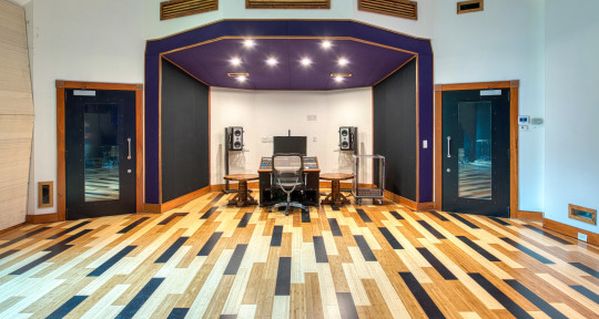 one-room recording studio - Purple Ridge Recording Studio