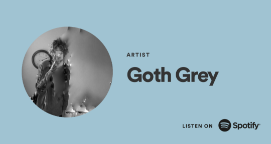 Artist, Composer, Graphic Art - goth grey