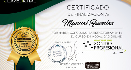 Music producer, Mix & master - Manuel Fuentes