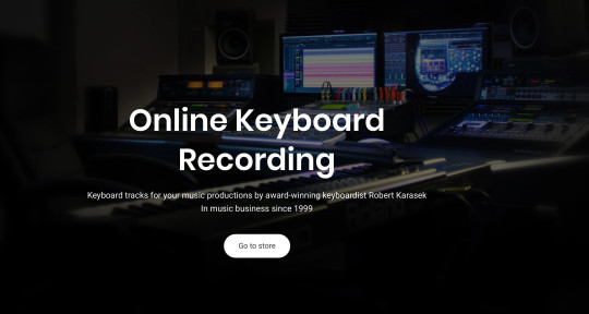 Keyboard tracks for your music - Online Keyboard Recording