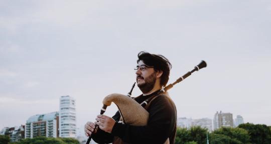 Bagpipe, Tin Whistle, Musician - Santiago Molina