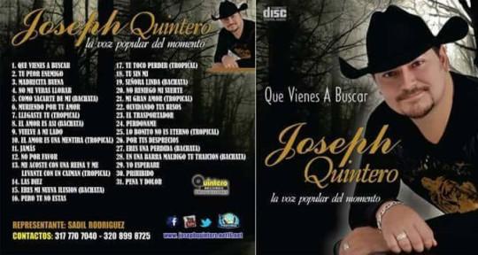 cantante  - Joseph Quintero