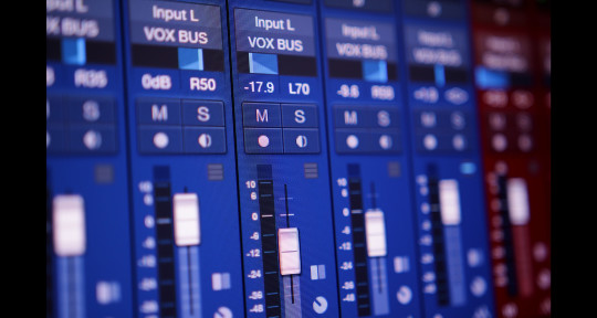 Mixing, Mastering, Production, - Marcus Vaughn