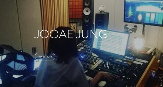 Mixing ,recording studio. - Jooae Jung